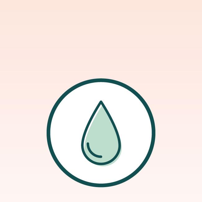 oily acne prone skin type icon 650